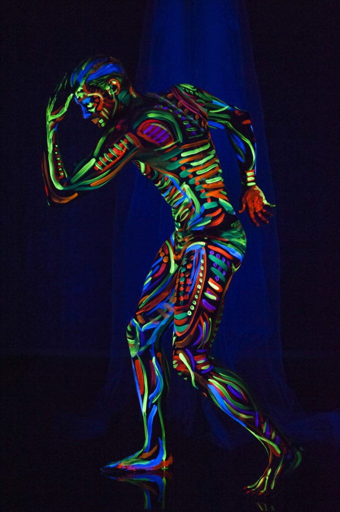 FLUO- BODYPAINTING